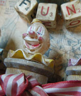 Carnival clown assemblage