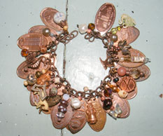 bracelet using found objects